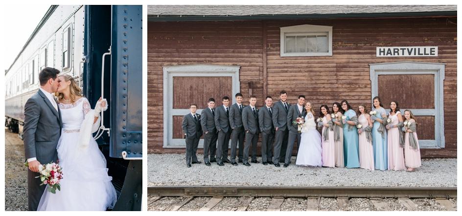 Arlyn & Niky - Train Station Wedding Hartville Ohio - Columbus Ohio Photographer_0058