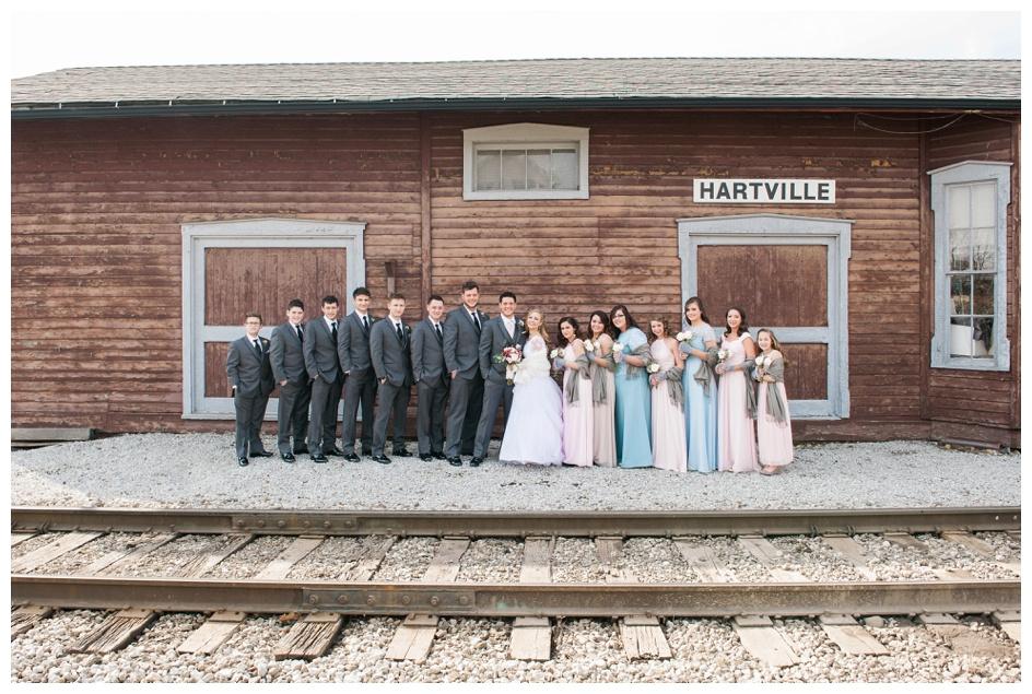 Arlyn & Niky - Train Station Wedding Hartville Ohio - Columbus Ohio Photographer_0057