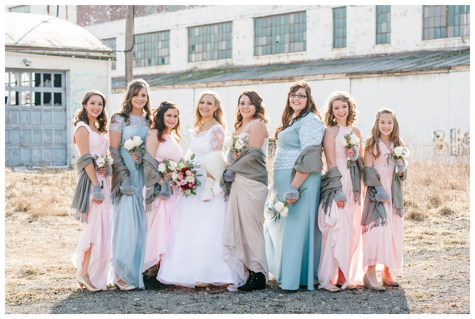 Arlyn & Niky - Train Station Wedding Hartville Ohio - Columbus Ohio Photographer_0064