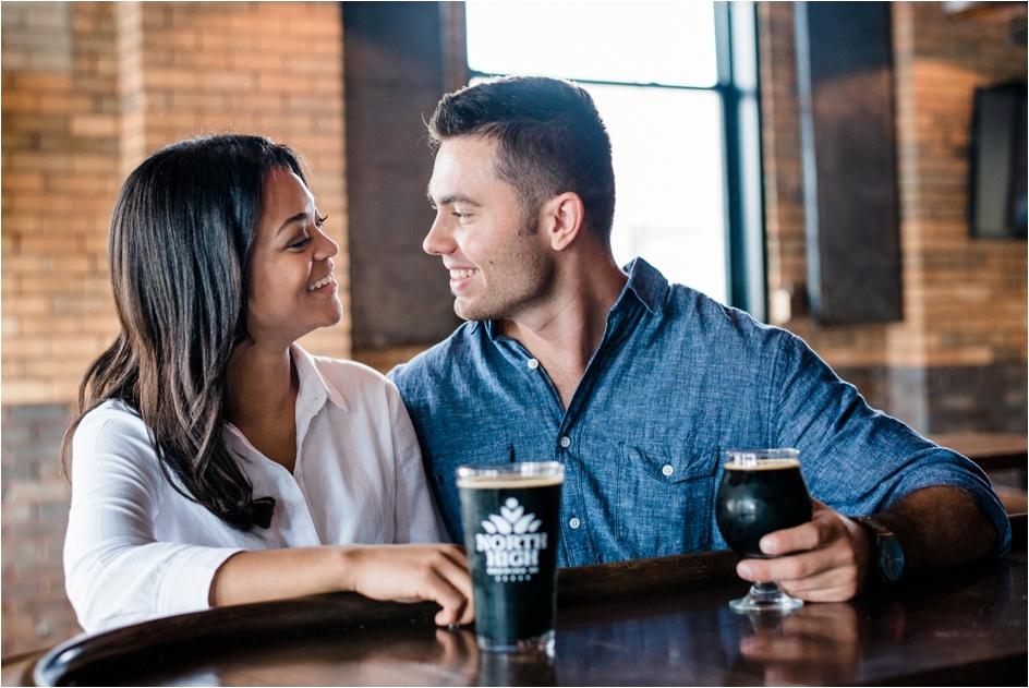 Columbus Ohio Wedding Photographer - North High Brewing - Richy & Alyson Engagement_0046
