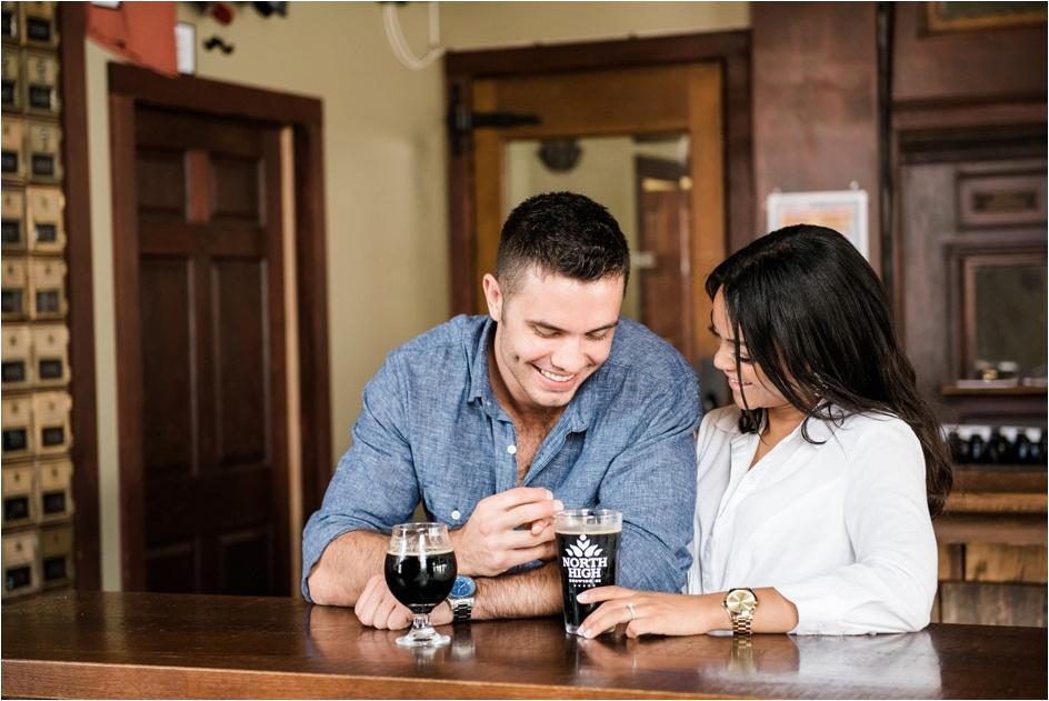 Columbus Ohio Wedding Photographer - North High Brewing - Richy & Alyson Engagement_0012