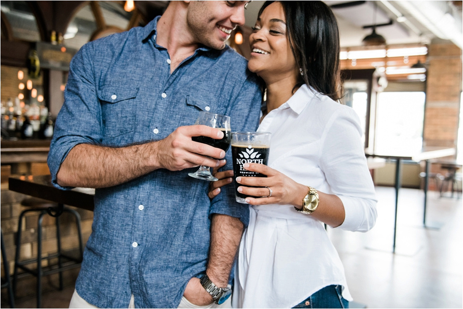 Columbus Ohio Wedding Photographer - North High Brewing - Richy & Alyson Engagement_0011