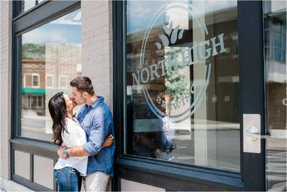 Columbus Ohio Wedding Photographer - North High Brewing - Richy & Alyson Engagement_0058