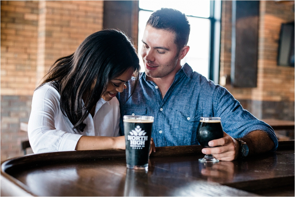 Columbus Ohio Wedding Photographer - North High Brewing - Richy & Alyson Engagement_0019