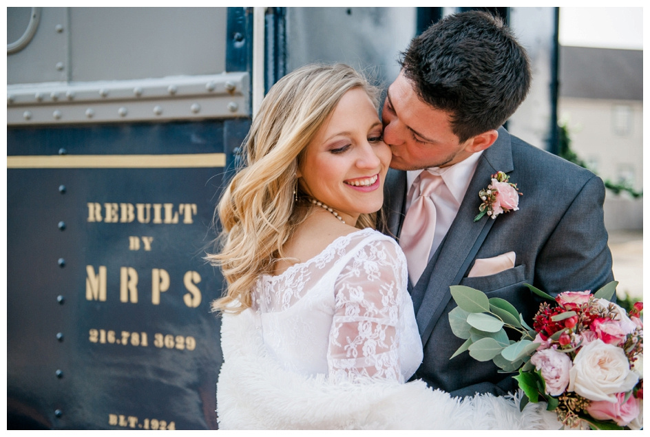 Arlyn & Niky - Train Station Wedding Hartville Ohio - Columbus Ohio Photographer_0044